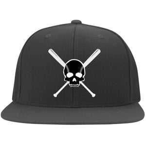 Diamond Life Skull and Bats FlexFit On-Field Hat - GrandSlamDirect.com