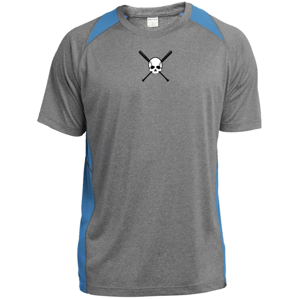 "Men's ""Skull"" Colorblock Performance Shirt - GrandSlamDirect.com"