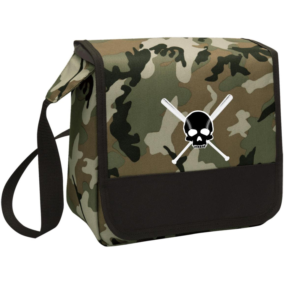 Diamond Life Skull and Bats Lunch Cooler - GrandSlamDirect.com