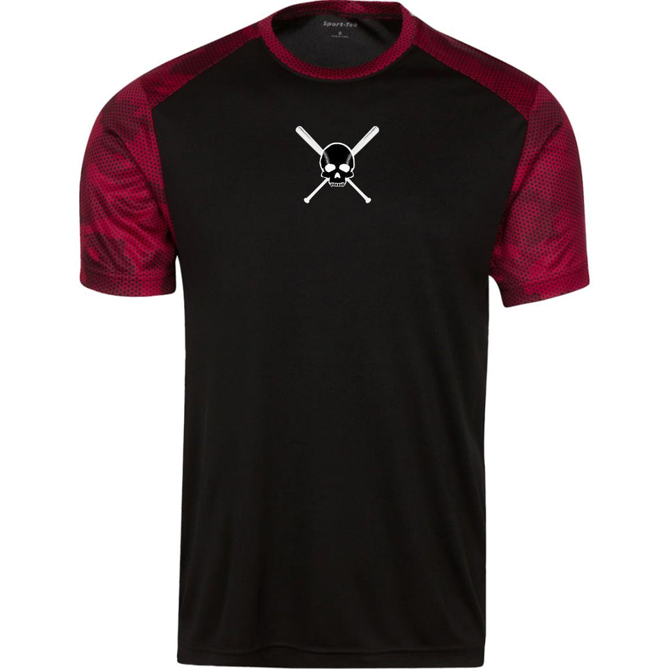 "Youth ""Skull"" CamoHex Performance Shirt - GrandSlamDirect.com"