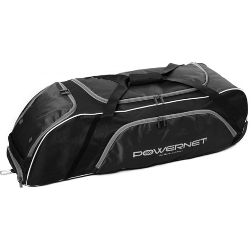 PowerNet Baseball or Softball Wheeled Equipment Bag - GrandSlamDirect.com