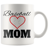 Baseball / Softball Mom Personalized Mug