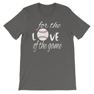 For the Love of the Game Women's Jersey Tee - GrandSlamDirect.com