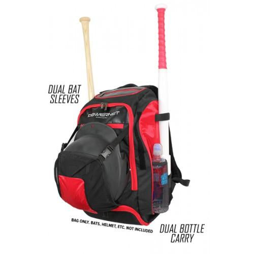 PowerNet Baseball or Softball Backpack - XL - GrandSlamDirect.com