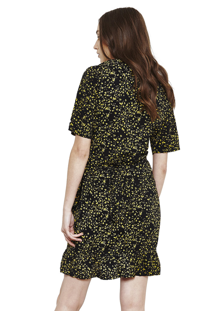 MAGDALENA WRAP DRESS