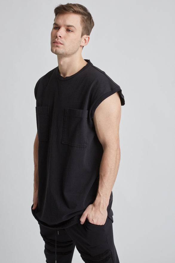 BORAX TOP - Black