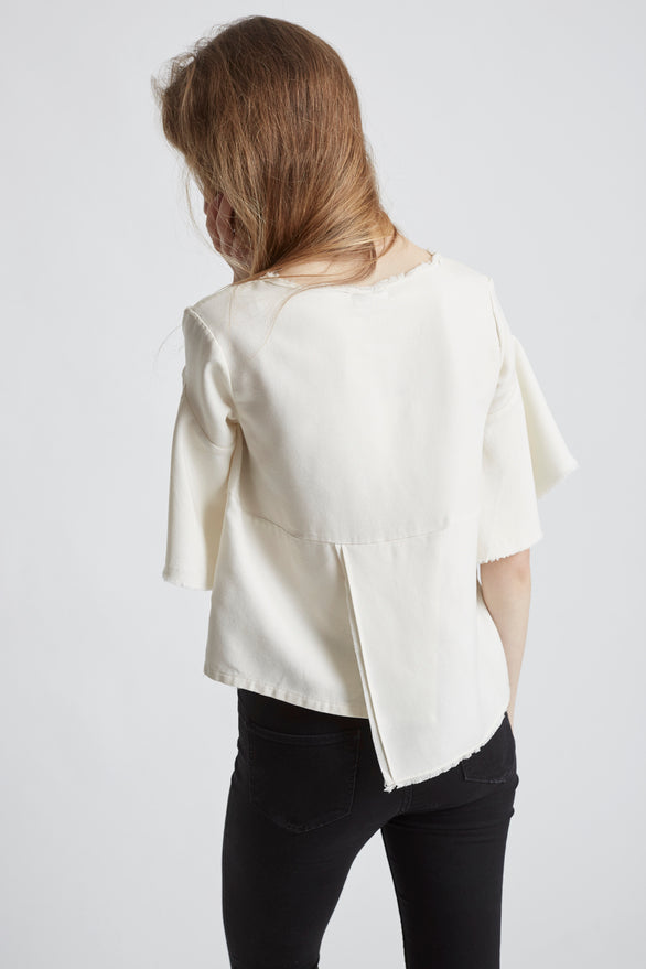 LILLIAN TOP - IVORY