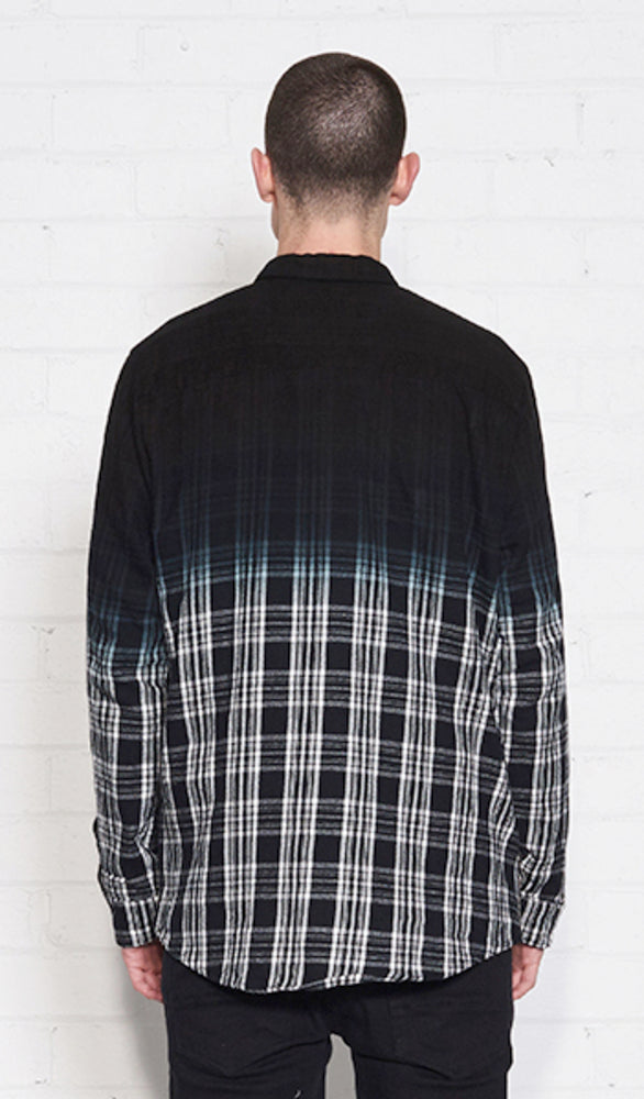 CENTRAL SHIRT - Black Plaid