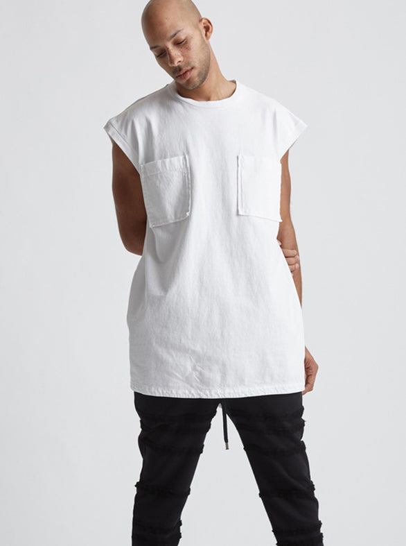 BORAX TOP - White