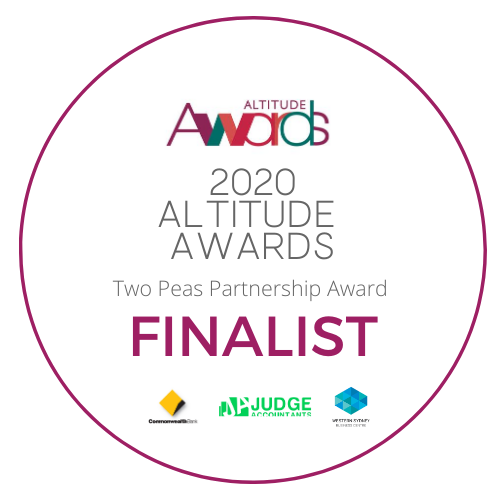 2020 Altitude Awards Finalist in the Two Peas Partnership Business Category
