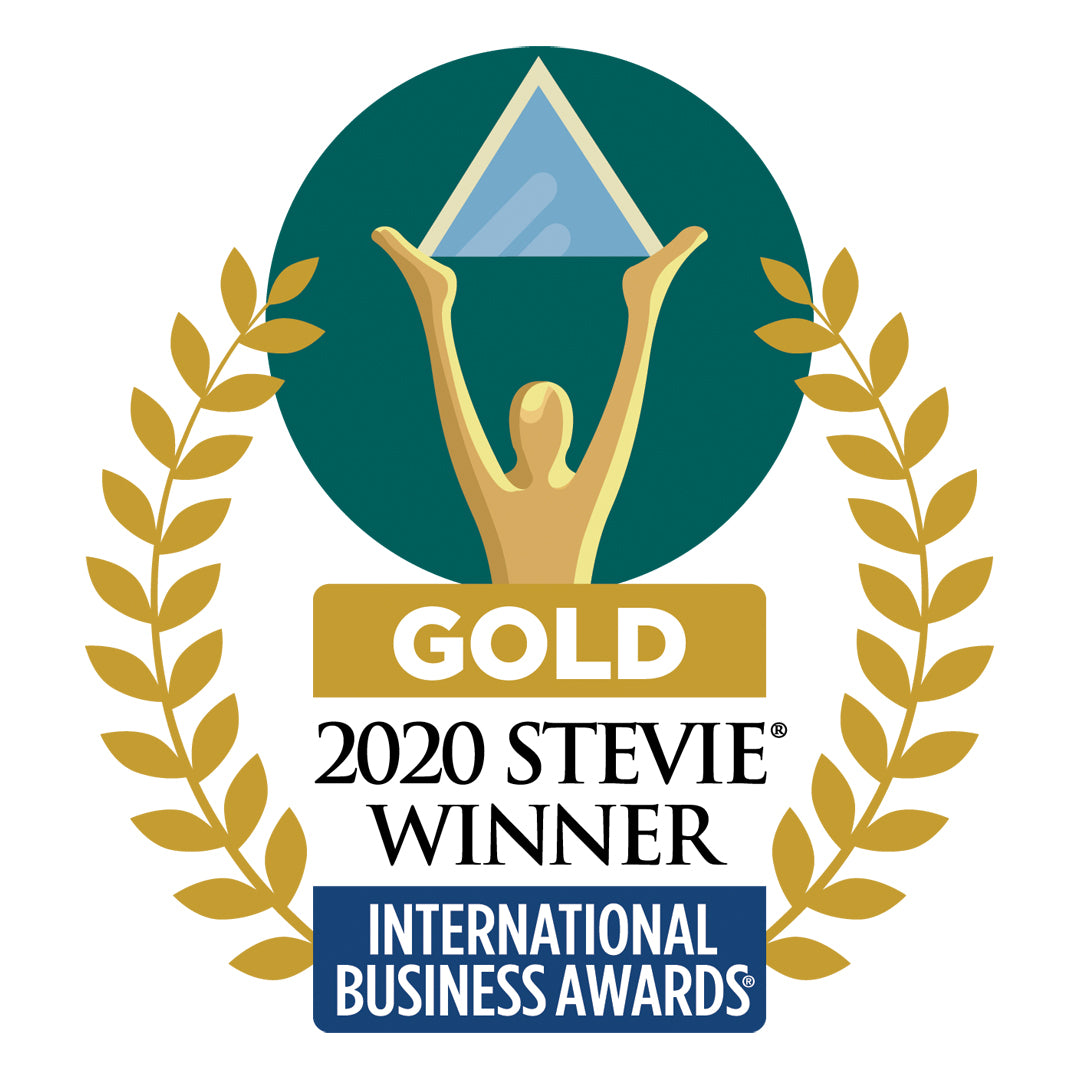 2020 Gold Stevie Awards in the International Business Awards