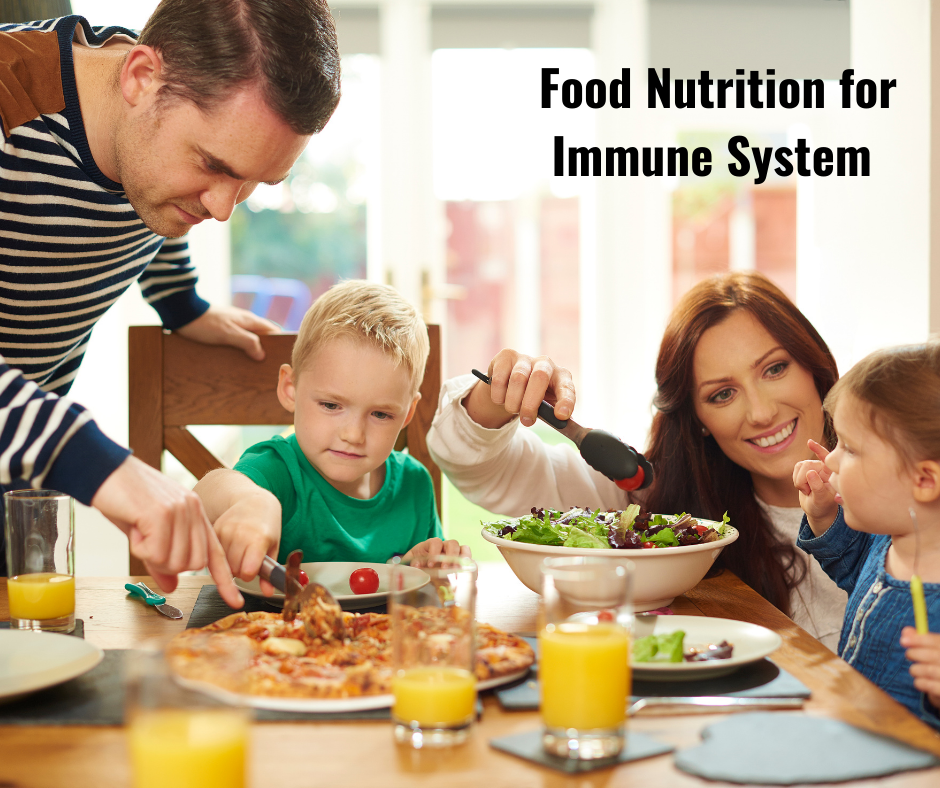 Food Nutrition for Immune System