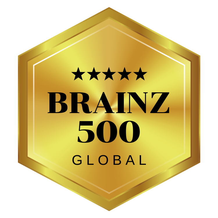 Brainz 500 Global Honoree