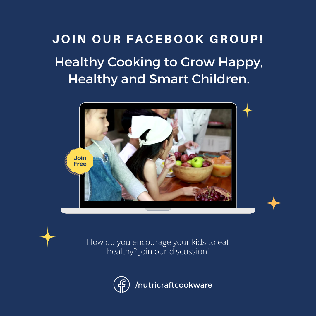 How do you get your kids to eat healthily? We'll equip you with the right tools to encourage kids to eat right. Join our Facebook group here, https://www.facebook.com/groups/2292550414176757/