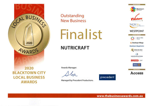 Nutricraft as an Outstanding New Business