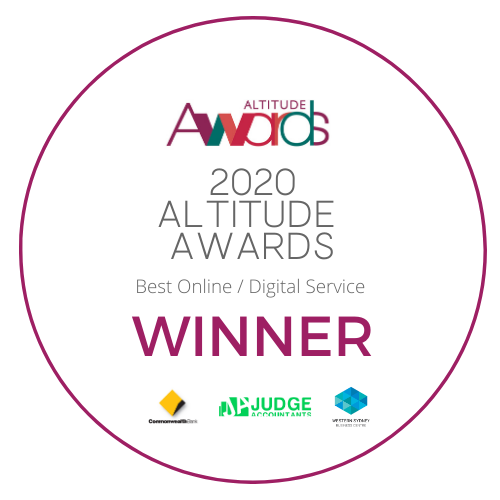 2020 Altitude Awards Best Online Digital Service Winner