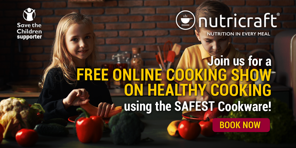 Nutricraft Healthy Cooking to Grow Happy Children