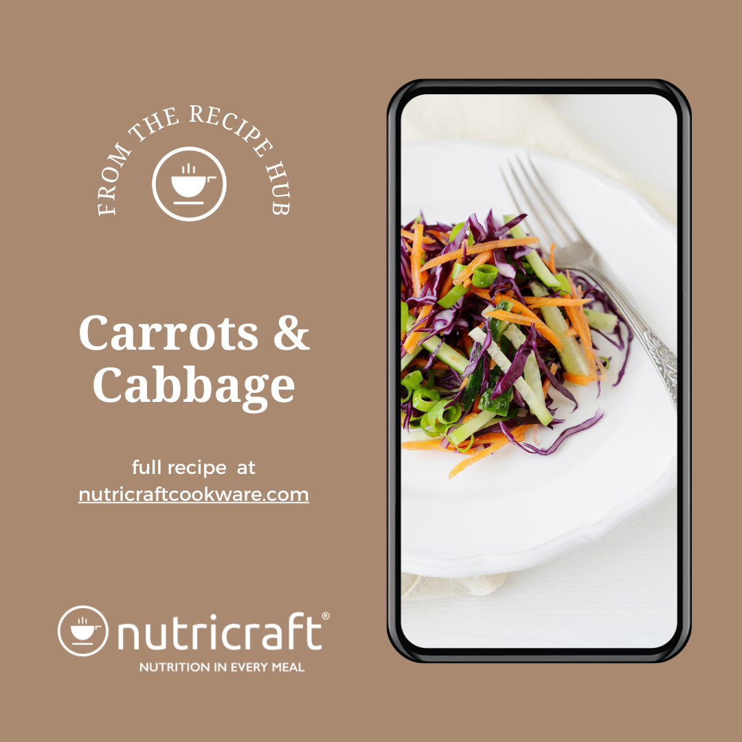 Carrots and Cabbage Healthy Food