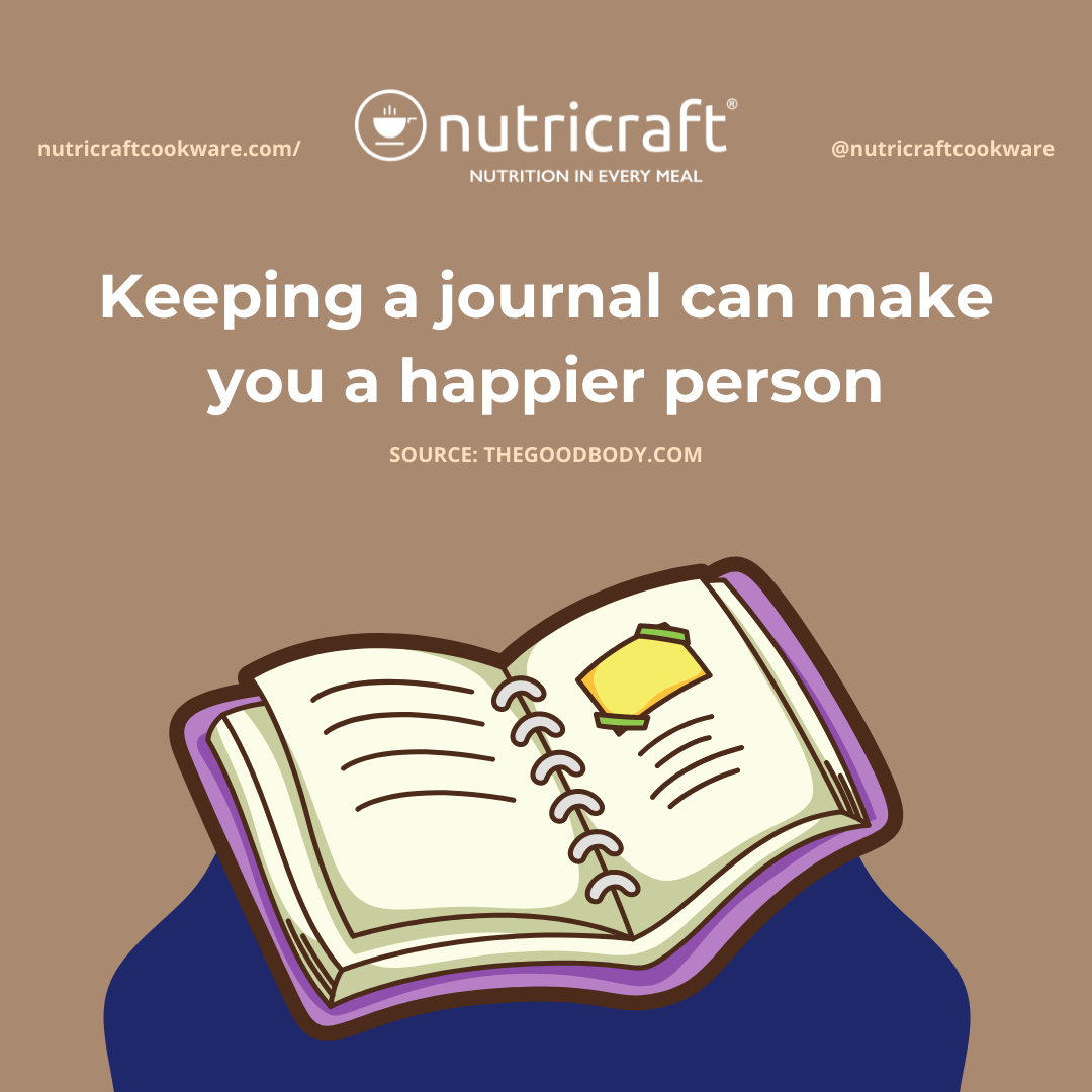 Keeping a journal can make you a happier person
