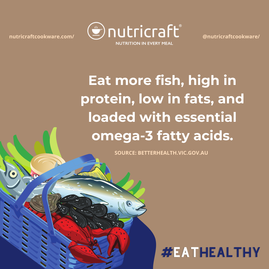 Fish is rich in omega-3 fatty acids
