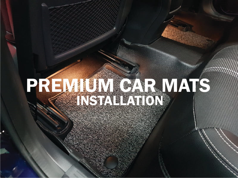 Way To Install Our Premium Car Mats