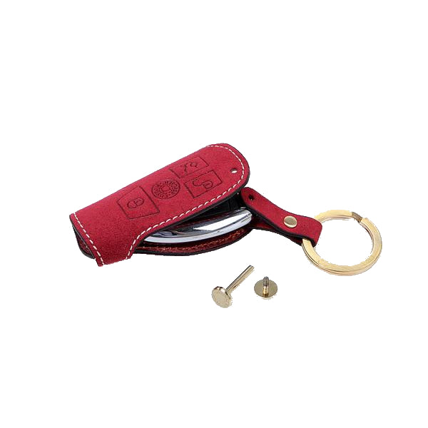 AEGIS Origin Alcantara Benz Smart Key Case - Red