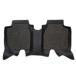 3RD ROW 6D Car Mat - KIA Carens  (Black)