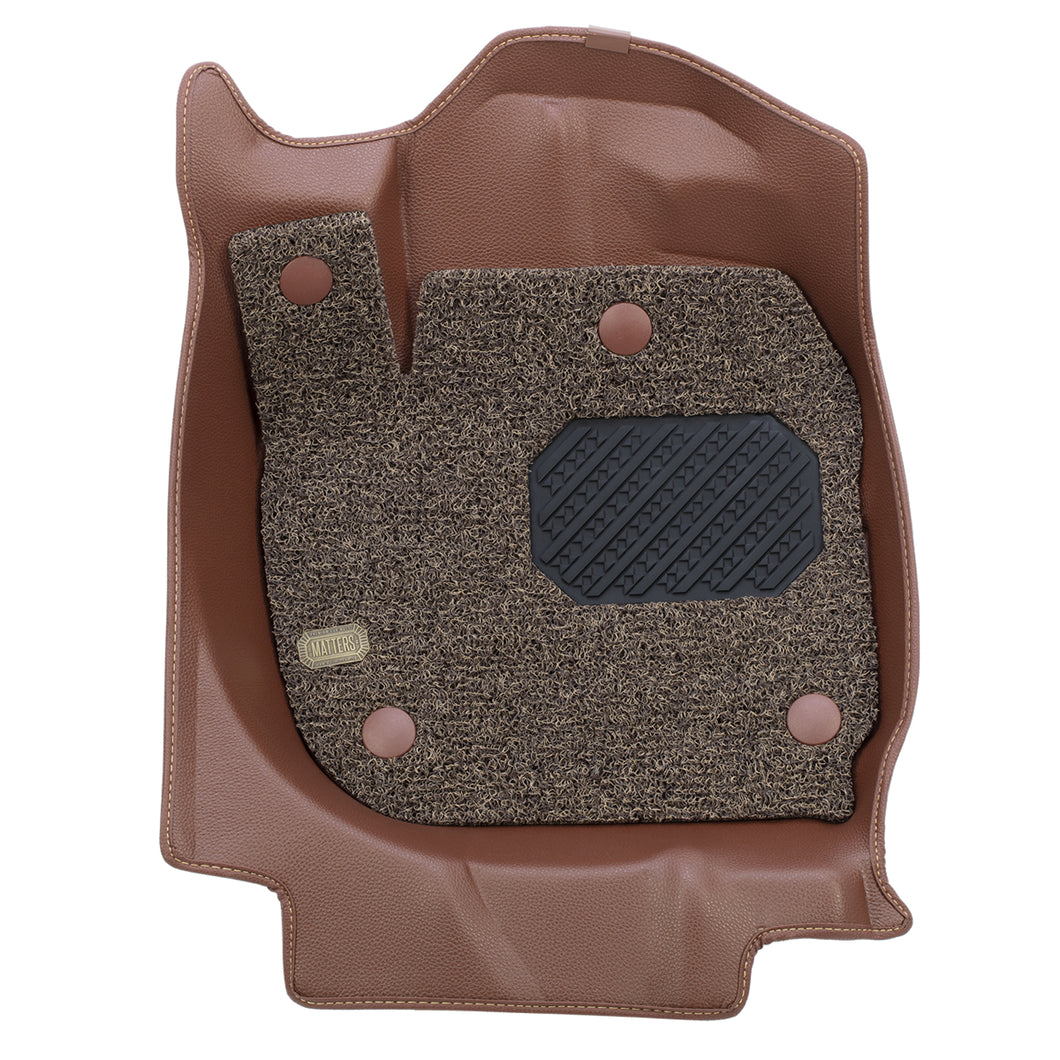 MATTERS 6D Car Mat - KIA Carens (Brown)
