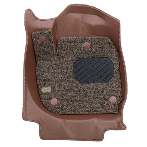 MATTERS 6D Car Mat - Mitsubishi Attrage (Brown) (2012-Present)