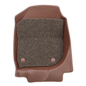 MATTERS 6D Car Mat - Volkswagen Golf MK7 (Brown)