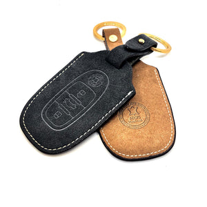 AEGIS Origin Alcantara Audi Smart Key Case - Brown
