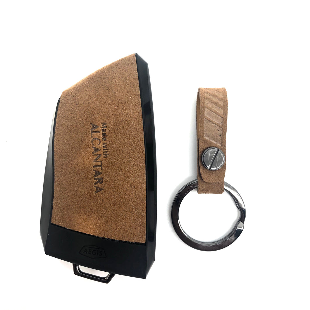 Aegis Car Key Holder - Aero Type for BMW N2 - Brown