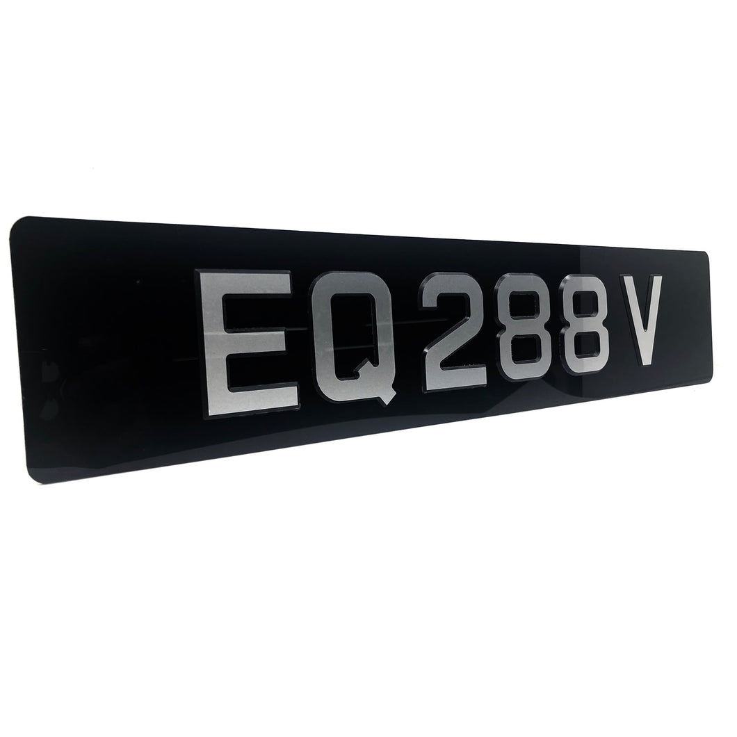 ZEN Gloss (Car Plate)