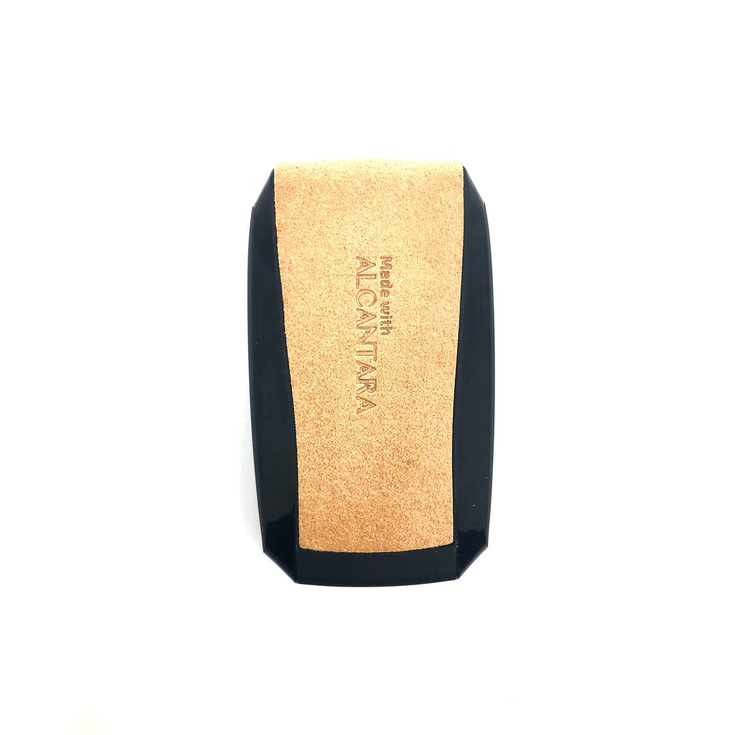 Aegis Alcantara Car Key Holder for Honda - BROWN