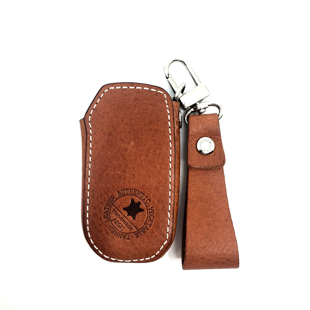 Aegis Car Key Holder - Ritz Type - 2019 K3 Smart Key Case - Camel