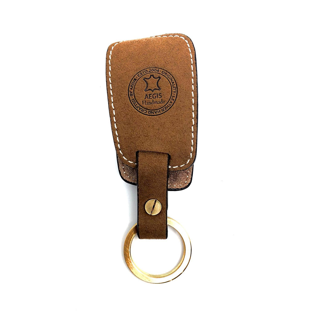 AEGIS Origin Alcantara VW-2 for Volkswagen Smart Key Case - Brown