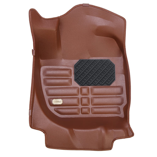MATTERS 5D Car Mat - Mazda 2 (Brown) (2012 to Present)