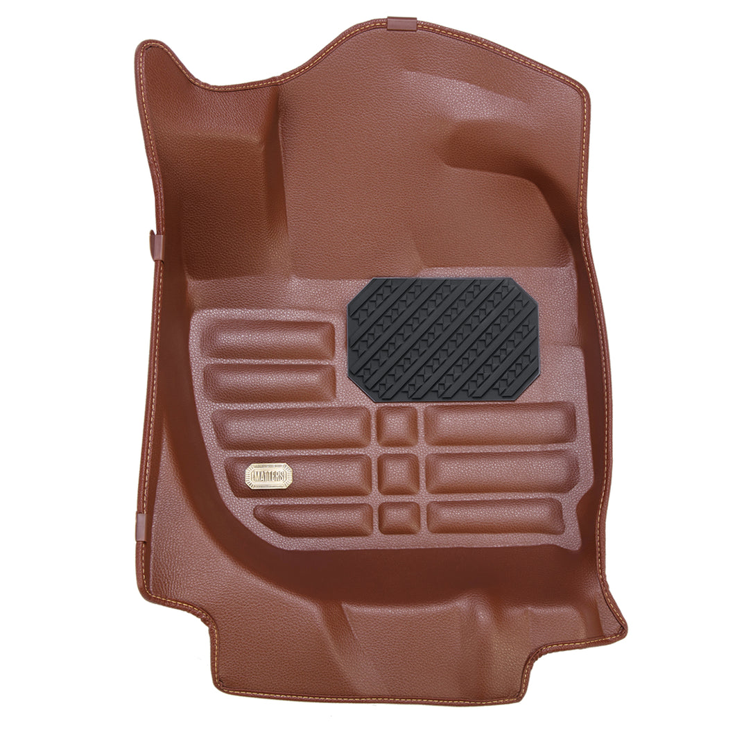 MATTERS 5D Car Mat - Mitsubishi Attrage (Brown) (2012-Present)