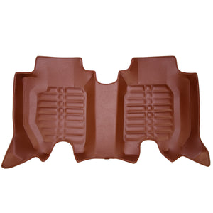 3RD ROW 5D Car Mat - KIA Sorento  (Brown)