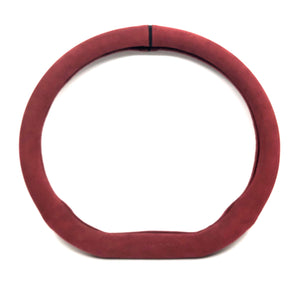 Aegis Alcantara Leather Handle Cover (D) - Wine Red