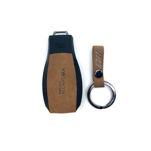 Aegis Car Key Holder - Alcantara for Mercedes Benz N1 -  Brown