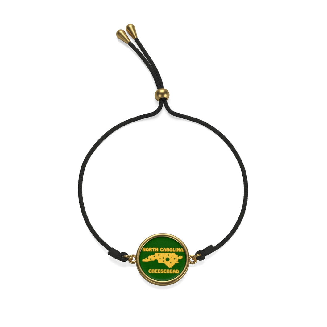 NORTH CAROLINA Cord Bracelet ( GREEN )