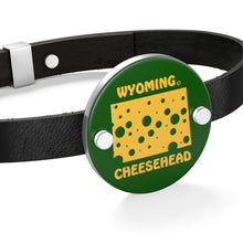 Load image into Gallery viewer, WYOMING Leather Bracelet