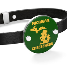 Load image into Gallery viewer, MICHIGAN Leather Bracelet