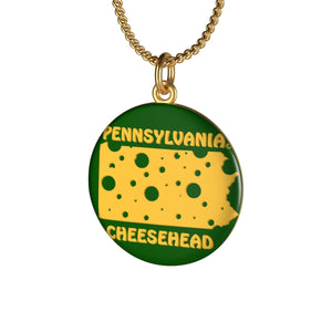 PENNSYLVANIA Single Loop Necklace (GREEN)