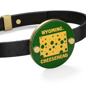 WYOMING Leather Bracelet