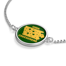 Load image into Gallery viewer, IOWA Box Chain Bracelet