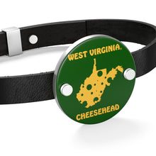 Load image into Gallery viewer, WEST VIRGINIA Leather Bracelet