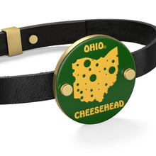 Load image into Gallery viewer, OHIO Leather Bracelet