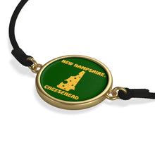 Load image into Gallery viewer, NEW HAMPSHIRE Cord Bracelet ( GREEN )